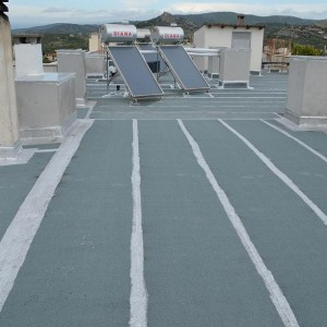 Roof Waterproofing & Thermal Insulation – Vasiliko Euboea