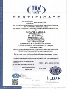 Πιστοποιητικό ISO